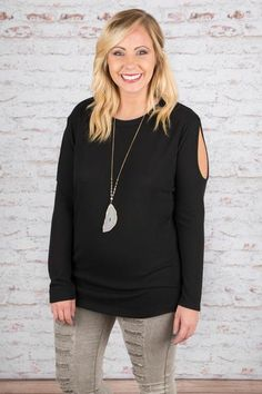Fresh Eyes Tunic, Black