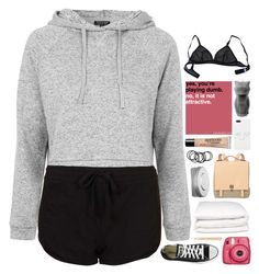 """""""kisa"""" by anavukadinovic ❤ liked on Polyvore featuring Topshop, Converse, Eres, Selfridges, H&M, Proenza Schouler, philosophy and Hermès"""