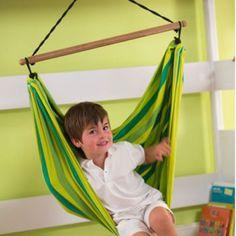 La Siesta - Kinder-Hängestuhl Lori grün inkl. Aufhängung, kbA