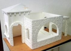 1 million+ Stunning Free Images to Use Anywhere Christmas Village Display, Christmas Nativity Scene, Christmas Crafts, Nativity House, Diy Nativity, Recycled Christmas Decorations, Xmas Decorations, Styrofoam Crafts, Free To Use Images