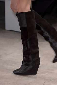 The latest Isabel Marant wedge boot we're about to see...everywhere
