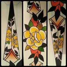 #roses #daggers #painting #art #sc