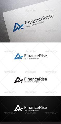 Buy Finance Rise Logo by flatos on GraphicRiver. Description Finance Rise Logo is a multipurpose logo. This logo can be used by finance companies, marketing companies. Logo Design Template, Logo Templates, Banner Online, Finance Logo, Ecommerce Logo, Company Slogans, Symbol Logo, Logo Images, Monogram Logo