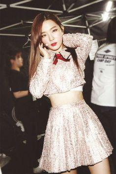 Red Velvet Seulgi, Stage Outfits, Girl Crushes, Kpop Girls, My Girl, Tulle, Flower Girl Dresses, Style Inspiration, Celebrities