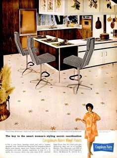 1961 Congoleum-Nairn Vinyl Floors