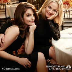 Don't miss Amy Poehler and Tina Fey host the party of the year! #GoldenGlobes