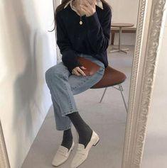Korean Fashion – How to Dress up Korean Style – Designer Fashion Tips Korean Fashion Trends, Asian Fashion, Look Fashion, Fashion Outfits, Womens Fashion, Fashion Tips, Casual Outfits, Cute Outfits, Ulzzang Fashion
