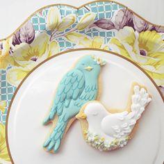 beautiful cookie birds
