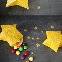 Pochettes surprises origami