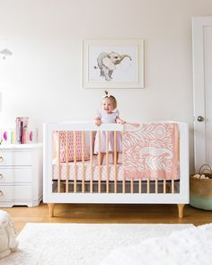 Apartment Reveal: Rosie's Nursery + Master Bedroom!
