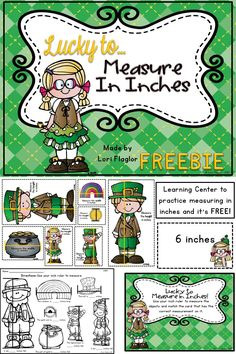 You'll be so lucky to grab this FREEBIE to help your children measuring in inches.