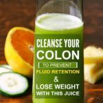 Colon cleansing juice