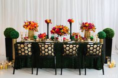 Tablescape | Inspired by All Things Kate Spade | WedLuxe