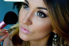 Maquiagem Roxa com Glamour