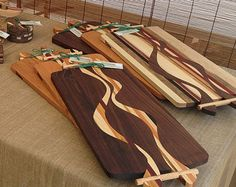 Artistic and unique serving trays/cutting boards created with a blend of…