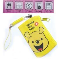Mini Coin Purse / Mesh Bag / Pouch / SD Cards Wallet, USB, Battery, Keys, Phone Strap, FREE SHIPPING