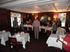 Dinner at our hotel, Two Bridges Hotel in Dartmoor, was included in our Back-Roads tour.