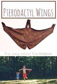 Pterodactyl Wings Tutorial