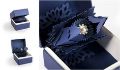 An impressive and innovative traditional ring box, using Highcon's technology & creative design.