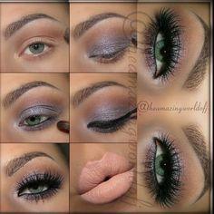 Glamour eye lashes