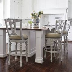 Promenade Swivel Bar and Counter Stools Swivel Counter Stools, Counter Height Bar Stools, Kitchen Counter Stools, Island Stools, Island Bar, Kitchen Tables, Counter Top, Kitchen Dining, Small Galley Kitchens