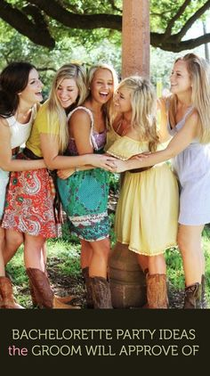 Bachelorette Party Ideas the Groom will Approve of | #bridesmaids #Bachelorparty