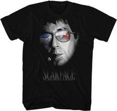 Scarface  Men's Black T-shirt