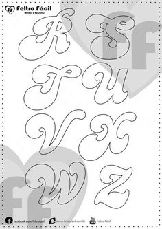 Alphabet Templates, Alphabet Art, Letter Art, Letters, Tattoo Lettering Styles, Graffiti Lettering Fonts, Hand Lettering, Soy Luna Logo, Free Pictures To Use