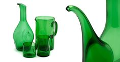 Today starts #EligoIT #BlackFriday! Until Monday 28th November at 23:59h you will be able to discover our special opportunities. Do not miss this unique chance to get hold of this carefully selected products at wonderful prices. #BlackFriday2016 is in full swing!    Empoli Glasses: Bugnato bottle green, Bugnato jug green,  Bugnato Large vase green and Bugnato small vase green. #Empoliglasses #EligoGlasses