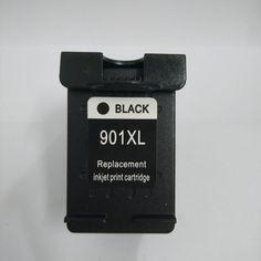 Big sale US $11.63  1PCS For HP 901 xl Black Ink Cartridge For HP901 For HP Officejet 4500 J4500 J4530 J4540 J4550 J4580 J4585 J4640 J4660 J4680  #Black #Cartridge #Officejet  #Electronics