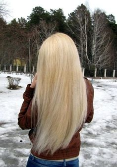 This is my goal for my hair. I have the color, now all I need is the length.