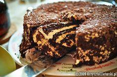 notatki kulinarne: Tort chałwowy