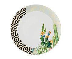 Plato en porcelana Exuber - Ø32 cm