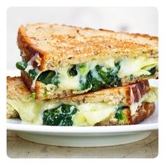 The Spinach Artichoke Panini http://revelryhouse.tumblr.com/post/41790050056/the-spinach-artichoke-panini  @RevelryHouse #JoinTheParty