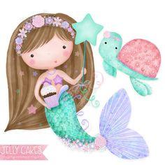 Printable Mermaid Decorations Mermaid Birthday Party Mermaid | Etsy Mermaid Wall Decor, Mermaid Diy, Vintage Mermaid, Mermaid Decorations, Mermaid Purse, Mermaid Tails, Birthday Decorations, Fantasy Mermaids, Unicorns And Mermaids