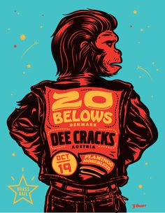 GigPosters.com - 20 Belows, The - Dee Cracks, The - Flamingo Nosebleed