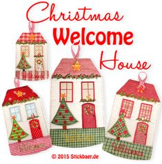 Christmas Welcome Ho