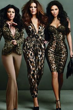 So I love the Kardashian sisters. Sue me.....so true, sorry ladies I'm not afraid to admit it :)