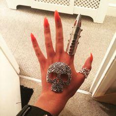 DIY American Horror Story Hotel, The Countess glove. Lady Gaga (work in progress)