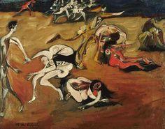 Richard Ceri (British, 1903-1971) - The Rape of the Sabine Women, 1949