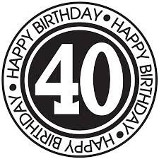 I need to ease myself into this and so my shock-absorption strategy starts here. 40th Birthday Images, Happy Birthday 40, Happy Birthday Football, Birthday Msgs, 40th Birthday Quotes, Birthday Clipart, 40th Birthday Parties, Birthday Wishes, Birthday Greetings