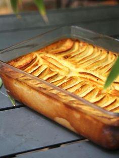 Recette de Flan chocolat blanc et pommes