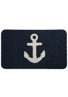 super cute nautical doormat. even if you aren't into boating..