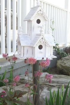 Birdhouse In The Garden That Makes The Park More Beautiful 22
