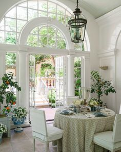 WE ALL NEED AN ORANGERY - Mark D. Sikes: Chic People, Glamorous Places, Stylish Things