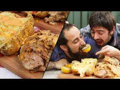 Mollejas Rellenas con Papas Gratinadas | Cook & Laucha 2x1 - YouTube