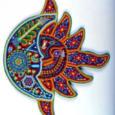 Artesanía Huichol. Mexico