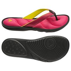 The Comfiest sandals / flip flops- These are the Chilwyanda Fit-Foam sandals from Adidas and they're ~ $16.