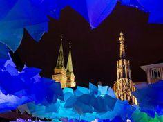 """Die """"Blaue Nacht"""" war gut besucht. Nuremberg"""