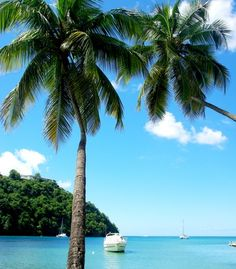 Marigot Bay is one of St Lucia's unforgettable romantic sights. (From: PHOTO: 10 Most Romantic Islands in the World!)
